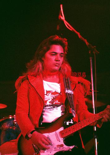 Deep Purple 1976 Tommy Bolin.© Chris Walter.