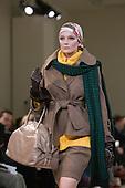 February 2009 - London Fashion Week, Aquascutum showing Autumn/Winter collection