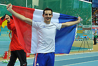 PICTURE BY Dave Winter/SWPIX.COM - Olympics 2012 - Medal hopes for France.....Copyright - Simon Wilkinson - 07811267706.....Renaud LAVILLENIE - Pole Vault.....