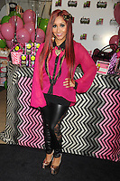 NEW YORK, NY - NOVEMBER 19: Nicole 'Snooki' Polizzi at the Snooki Couture Fragrance and Nail Polish Launch at Perfumania NYC on November 19, 2012 in New York City. Credit: mpi01/MediaPunch Inc. /NortePhoto