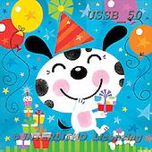 Sarah, CHILDREN BOOKS, BIRTHDAY, GEBURTSTAG, CUMPLEAÑOS, paintings+++++Bdaydoggy-12-A,USSB50,#BI# ,everyday ,everyday