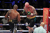 24th March 2018, O2 Arena, London, England; Matchroom Boxing, WBC Silver Heavyweight Title, Dillian Whyte versus Lucas Browne; Lucas Browne backed up in his corner