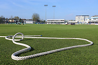 The boundary rope during Essex CCC vs Durham MCCU, English MCC University Match Cricket at The Cloudfm County Ground on 3rd April 2017