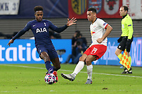 Ryan Sessegnon of Tottenham Hotspur and Tyler Adams of RB Leipzig during RB Leipzig vs Tottenham Hotspur, UEFA Champions League Football at the Red Bull Arena on 10th March 2020