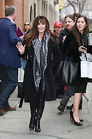 NEW YORK, NY - JANUARY 11: Marie Osmond seen after an appearance on  ABC's The View in New York City on January 11, 2018. <br /> CAP/MPI/RW<br /> &copy;RW/MPI/Capital Pictures