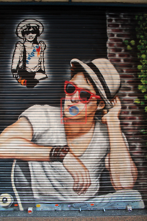 Street Art-Graffittis.<br /> El Raval - Barcelona.