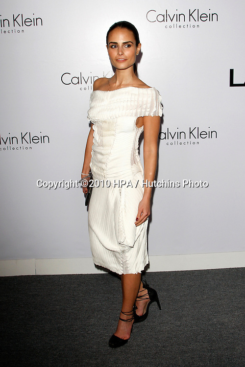 Jordana Brewster.arriving at the Calvin Klein collection and LOS ANGELES NOMADIC DIVISION Present a Celebration of L.A. ARTS MONTH.Calvin Klein Store.Los Angeles, CA.January 28, 2010.©2010 HPA / Hutchins Photo....