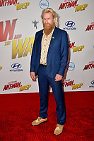 Rune Temte at the premiere for &quot;Ant-Man and the Wasp&quot; at the El Capitan Theatre, Los Angeles, USA 25 June 2018<br /> Picture: Paul Smith/Featureflash/SilverHub 0208 004 5359 sales@silverhubmedia.com