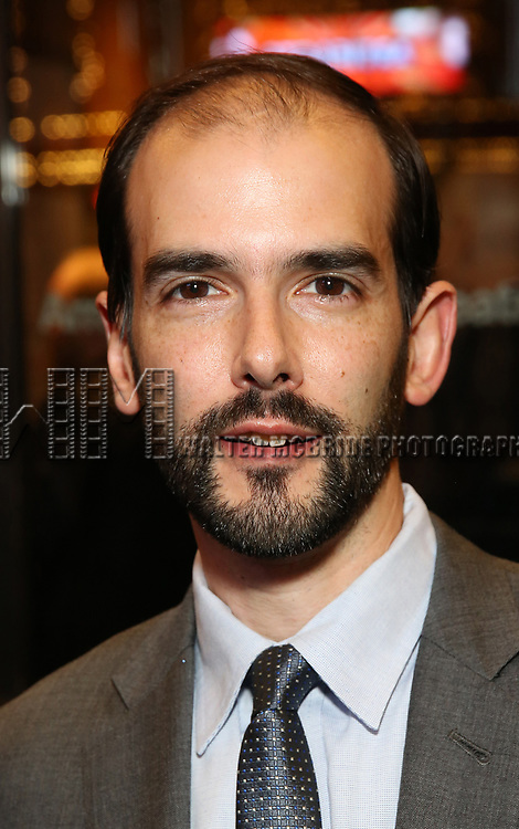 Marc Bruni attends the Broadway Opening Night performance of The Roundabout Theatre Company production of 'Time and The Conways'  on October 10, 2017 at the American Airlines Theatre in New York City.