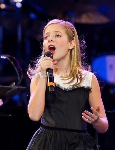 Jackie Evancho pictured at David Foster and Friends at Mandalay Bay Events Center in Las Vegas, NV on December 29, 2011. Erik Kabik / MediaPunch.