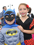 Ella and Eoin Flanagan who took part in the Laytown festival parade. Photo: Colin Bell/pressphotos.ie