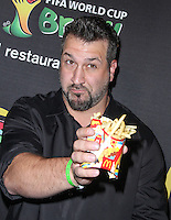 NEW YORK CITY, NY, USA - JUNE 05: Joey Fatone at the 2014 FIFA World Cup McDonald's Launch Party held at Pillars 38 on June 5, 2014 in New York City, New York, United States. (Photo by Jeffery Duran/Celebrity Monitor)