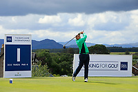 Charlie Denvir of Ireland during day 1 of the Boys' Home Internationals played at Royal Dornoch, Dornoch, Sutherland, Scotland. 07/08/2018<br />