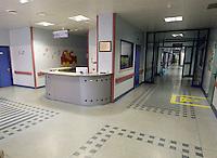 NAPOLI OSPEDALE MONALDI.NELLA FOTO DAY HOSPITAL CARDIOLOGIA PEDIATRICA.FOTO CIRO DE LUCA
