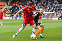Scott Vernon of Grimsby Town during the Sky Bet League 2 match between Barnet and Grimsby Town at The Hive, London, England on 29 April 2017. Photo by David Horn.