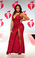 NEW YORK, NY - February 7 : Jordyn Woods attends The American Heart Association's Go Red For Women Red Dress Collection 2019 Presented By Macy's at Hammerstein Ballroom on February 7, 2019 in New York City.<br /> CAP/MPI/JP<br /> &copy;JP/MPI/Capital Pictures