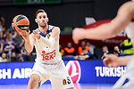 Real Madrid's Rudy Fernandez duringTurkish Airlines Euroleague match between Real Madrid and FC Barcelona Lassa at Wizink Center in Madrid, Spain. March 22, 2017. (ALTERPHOTOS/BorjaB.Hojas)