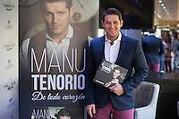 Spanish singer Manu Tenorio presents his biography `Manu Tenorio; De todo corazón´ in Madrid, Spain. December 10, 2015. (ALTERPHOTOS/Victor Blanco) /NortePhoto