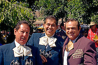 Mariachi musicians at the Fiesta de Santa Fe, New Mexic