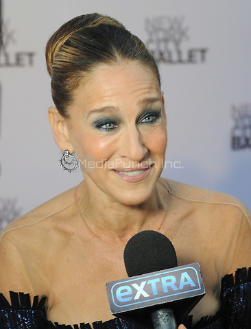 NEW YORK, NY - SEPTEMBER 28: Sarah Jessica Parker attends the New York City Ballet's 2017 Fall Fashion gala at David H. Koch Theater at Lincoln Center on September 28, 2017 in New York City.  Photo Credit: John Palmer/MediaPunch