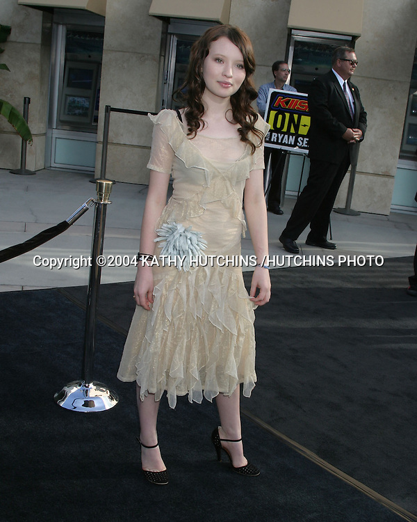 "©2004 KATHY HUTCHINS /HUTCHINS PHOTO.LEMONY SNICKETS - .A SERIES OF UNFORTUNATE EVENTS"".LOS ANGELES, CA.DECEMBER 12, 2004..EMILY BROWNING"
