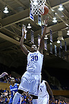 25 November 2014: Duke's Amber Henson. The Duke University Blue Devils hosted the State University of New York Buffalo Bulls at Cameron Indoor Stadium in Durham, North Carolina in a 2014-15 NCAA Division I Women's Basketball game. Duke won the game 88-54.
