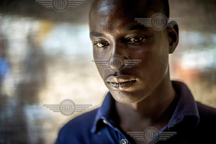 Malian Ousmane Goro, 29, has been stranded in Niamay after authorities clamped down on people crossing the Sahara Desert after 92 people died in the desert in October 2013. Some members of Ousmane's family have managed to get to Europe and his dream is to be reunited to them. His parents gave him some money and he is waiting for his chance to organise a group to cross the desert. Many youths throughout West Africa dream of making the journey to Europe where they believe they will be able to make a life for themselves and send money home to their families. For this they are willing to risk their lives in a perilous journey across the Sahara Desert and then by rickety boats to Europe. The reality is that they are prey to exploitation throughout the journey and for those making the final sea voyage death by drowning is a common fate. Even those reaching the fabled European shore are usually returned after a prolonged period incarcerated in a migrants detention centre. Niamey has become a staging post where groups of young men often become stranded as they try to raise the funds necessary to continue their journey.