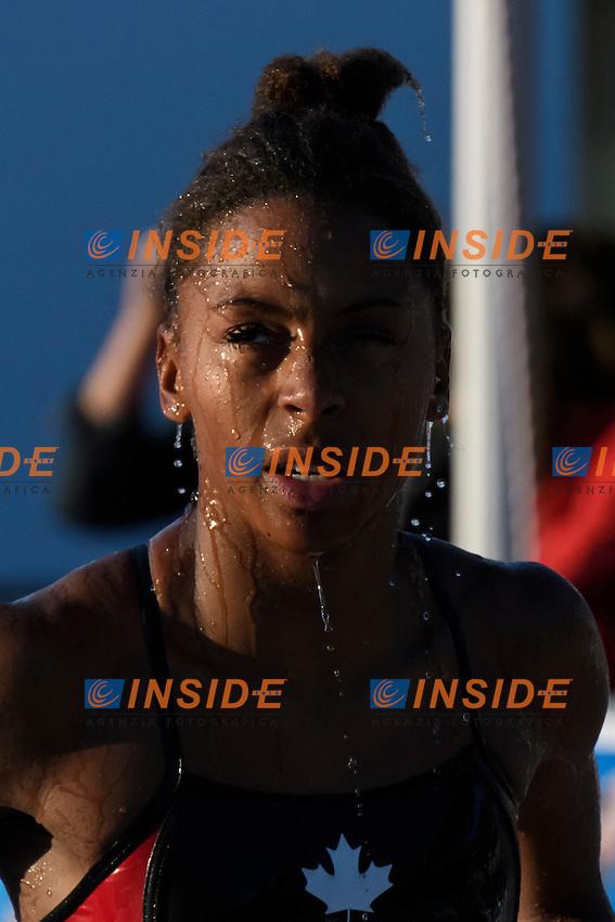 Jennifer Abel <br /> 3m Sincro Trampolino <br /> Roma 20-06-2016 Stadio del Nuoto Foro Italico Tuffi Campionati Italiani <br /> Foto Andrea Staccioli Insidefoto
