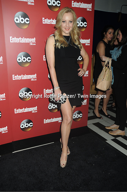 """Wendi McLendon-Covey of  """"The Goldbergs"""" at the Entertainment Weekly and ABC-TV Upfront Party at The General on May 14, 2013 in New York City."""