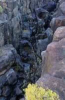 730850329 lava formations along flow line at fossil falls blm protected lands inyo county california