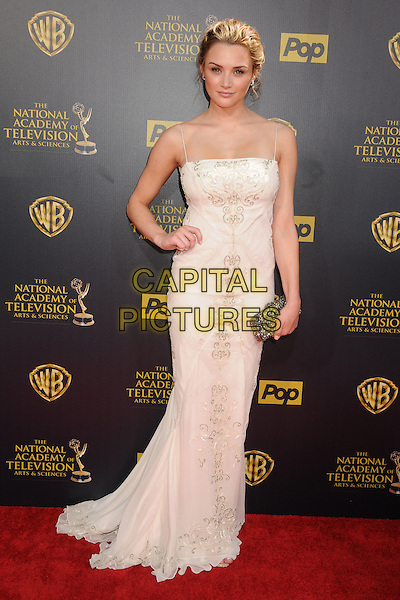26 April 2015 - Burbank, California - Hunter King. The 42nd Annual Daytime Emmy Awards - Arrivals held at Warner Bros. Studios. <br /> CAP/ADM/BP<br /> &copy;BP/ADM/Capital Pictures