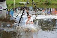 FIERLJEPPEN: GRIJPSKERK: 05-09-2015, NK Fierljeppen voor jeugd, ©foto Martin de Jong