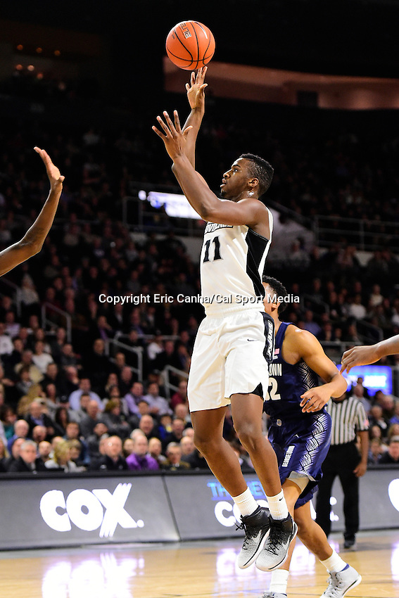 Wednesday, January 4, 2016: Providence Friars guard Alpha Diallo (11) goes to the basket during the NCAA basketball game between the Georgetown Hoyas and the Providence Friars held at the Dunkin Donuts Center, in Providence, Rhode Island. Providence defeats Georgetown 76-70 in regulation time. Eric Canha/CSM