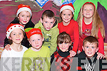 Ho ho ho: Taking part in the Christmas show at the Ballybunion Community Centre on Wednesday last were front l-r Orla Mulvihill, Niamh Stack, Katie Joy and Aidain Long. Back l-r Louise Hanrahan, Pierse O'Sullivan, Kerryanne Williams and Anna-May Wall.   Copyright Kerry's Eye 2008