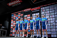 team Total Direct Energie, pre race, team presentation<br /> <br /> Circuit de Wallonie 2019<br /> One Day Race: Charleroi – Charleroi 192.2km (UCI 1.1.)<br /> Bingoal Cycling Cup 2019