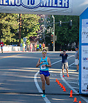 Zachary Hunt won the Reno 10 Mile Run (53:25) in downtown Reno on Sunday, August 13, 2017.