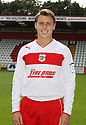 Luke Freeman of Stevenage. Stevenage FC photoshoot -  Lamex Stadium, Stevenage . - 16th August, 2012. © Kevin Coleman 2012