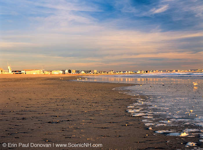 Hampton Beach State Park at Hampton Beach, New Hampshire.