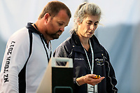 Coaches in action during the Swimming New Zealand Short Course Championships,Owen G Glenn National Aquatic Centre, Auckland, New Zealand, Tuesday 3 October 2017. Photo: Simon Watts/www.bwmedia.co.nz