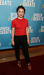 Sarah Steele attends Broadway Red Carpet Premiere of 'Speech & Debate'  at the American Airlines Theatre on April 2, 2017 in New York City.