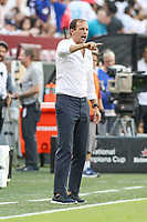 Landover, MD - August 4, 2018: Juventus head coach Allegri Massimiliano during the match between Juventus and Real Madrid at FedEx Field in Landover, MD.   (Photo by Elliott Brown/Media Images International)