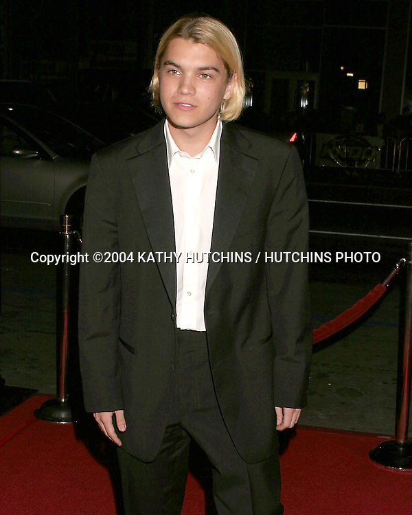 "©2004 KATHY HUTCHINS /HUTCHINS PHOTO.PREMIER OF ""THE GIRL NEXT DOOR"".HOLLYWOOD, CA.MARCH 4, 2003..EMILE HIRSCH"