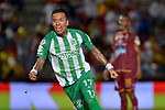 Deportes Tolima venció 1-0 a Atlético Nacional. Final ida Liga Águila I-2018.