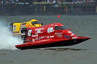 Shaun Torrente (#42) and Lynn Simberger (#72)   (Formula 1/F1/Champ class)