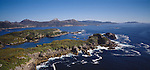 Easy Harbour area looking south. Stewart Island (Rakiura) National Park. New Zealand.