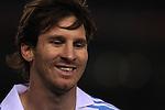 La selecion de Argentina  gano por 4-0 a el selecionado de Ecuador rumbo  a  Brasil 2014