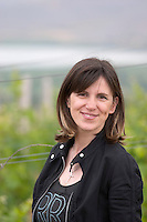 Artemis Toulaki, oenologist winemaker. Amyntaion wine cooperative, Amyndeon, Macedonia, Greece