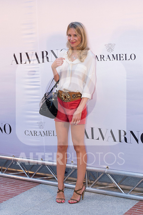 03.09.2012. Celebrities attending the Alvarno fashion show during the OFF Mercedes-Benz Fashion Week Madrid Spring/Summer 2013 at Museo Lazaro Galdiano. In the image Maria Leon (Alterphotos/Marta Gonzalez)