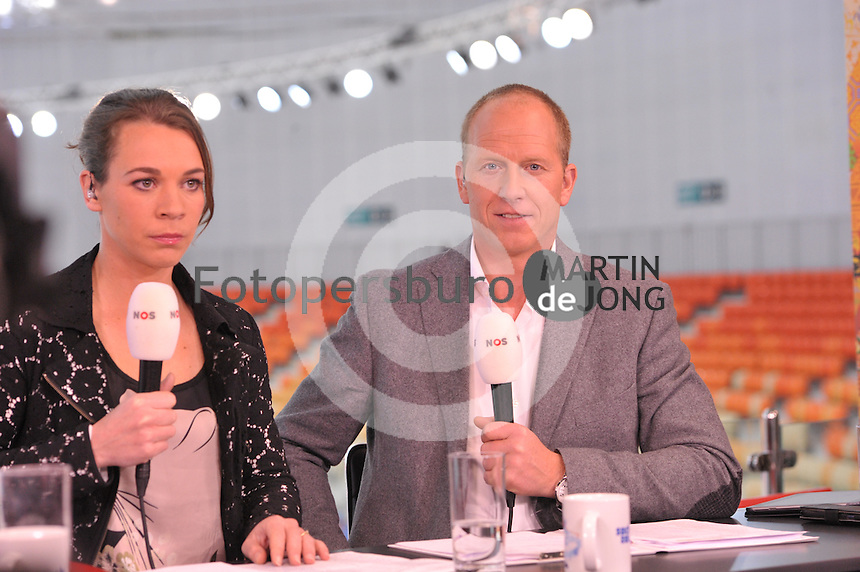 OLYMPICS: SOCHI: Adler Arena, 16-02-2014, Ladies' 1500m, Pauline van Deutekom, Rintje Ritsma, ©photo Martin de Jong