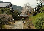 Monk's Quarters and Garden, Tenryuji Heavenly Dragon Temple, Kyoto, Japan
